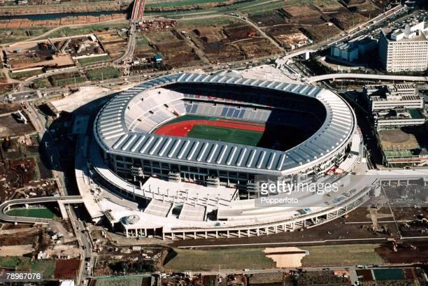 Sport Football FIFA World Cup 2002 Venue Yokohama International Sports Stadium Japan