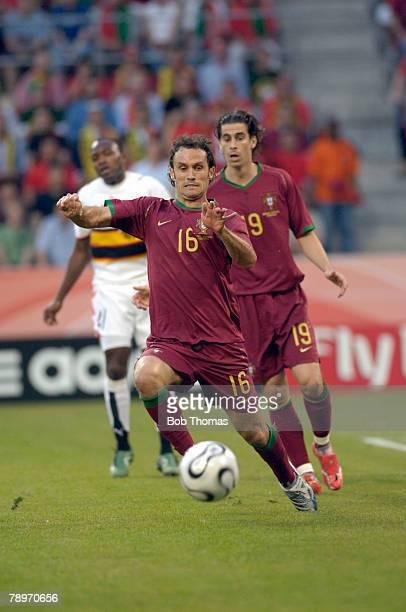 Sport, Football, FIFA World Cup, Cologne, 11th June 2006, Angola 0 v Portugal 1, Ricardo Carvalho, Portugal