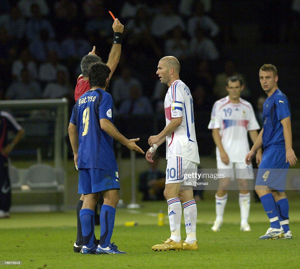 Sport. Football. FIFA World Cup Final. Berlin. 9th July 2006. Italy 1 v France 1 : ニュース写真