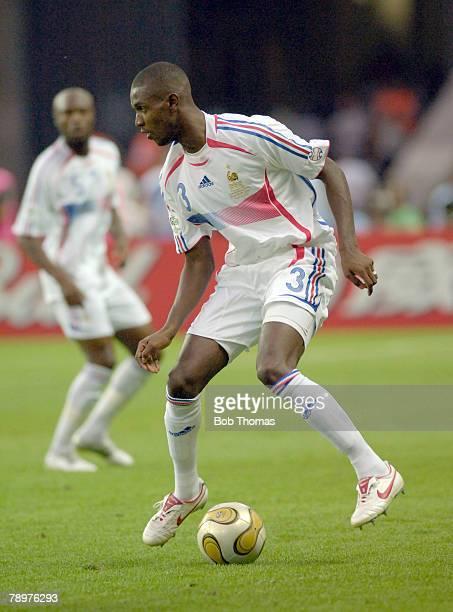 Sport Football FIFA World Cup Final Berlin 9th July 2006 Italy 1 v France 1 Italy won 53 on Penalties Eric Abidal France