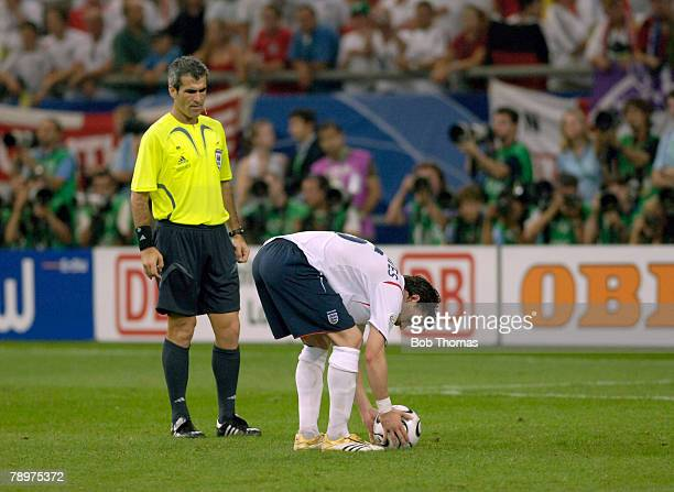 Sport Football FIFA World Cup Gelsenkirchen 1st July 2006 Quarter Final England 0 v Portugal 0 Portugal won 3 1 on Penalties after Extra Time...