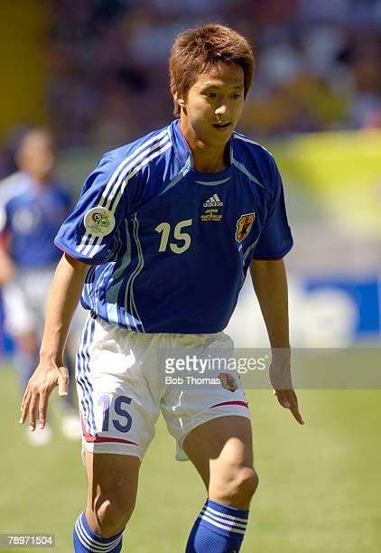 Sport Football FIFA World Cup Kaiserslautern 12th June 2006 Australia 3 v Japan 1 Takashi Fukunishi Japan