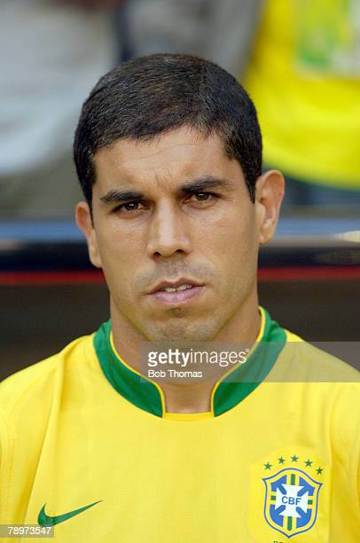 Sport Football FIFA World Cup Munich 18th June 2006 Brazil 2 v Australia 0 Ricardinho Brazil