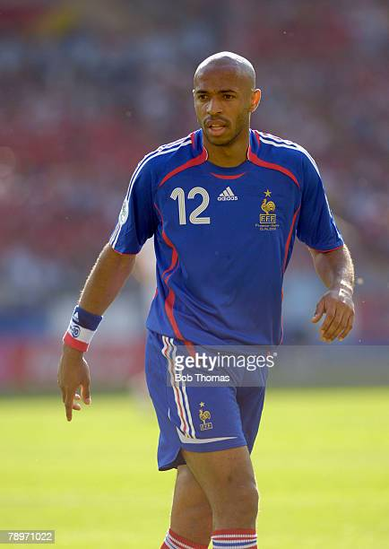 Sport, Football, FIFA World Cup, Stuttgart, 13th June 2006, France 0 v Switzerland 0, Thierry Henry, France