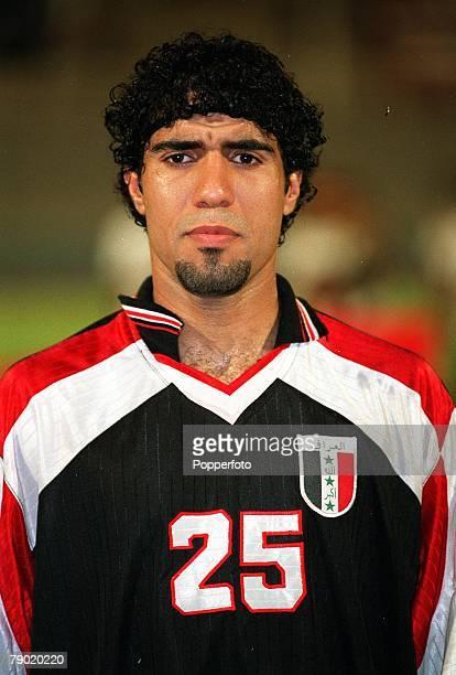 Sport Football Friendly International Abu Dhabi 2nd August 2001 United Arab Emirates 2 v Iraq 2 Iraq's Abdul Abolheel