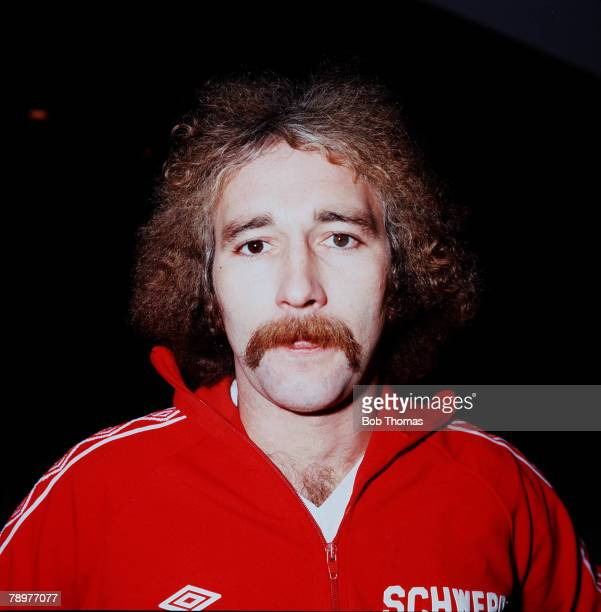 Sport Football Gerry Gow of Bristol City Circa1979