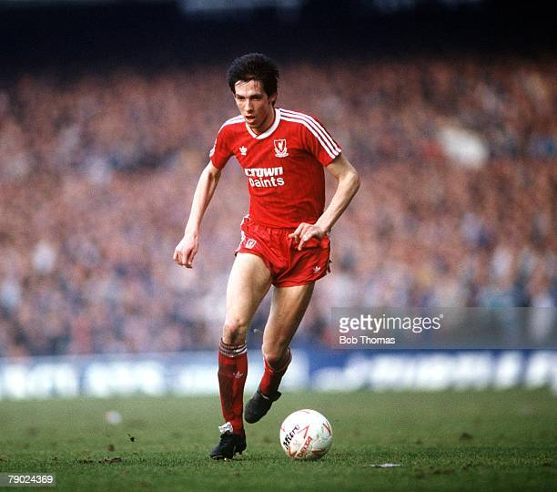 Sport, Football, Goodison Park, Liverpool, 21st February 1988, FA Cup Fifth Round, Everton 0 v Liverpool 1, Liverpool's Gary Ablett