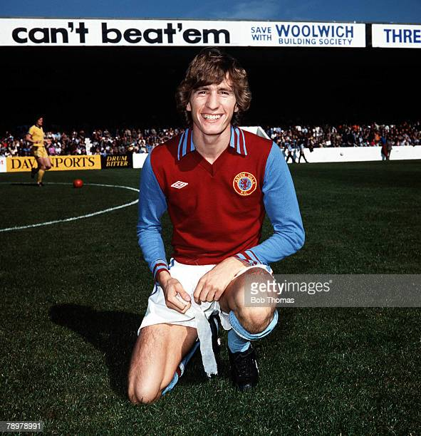 Sport Football Gordon Cowans of Aston Villa Circa 1978