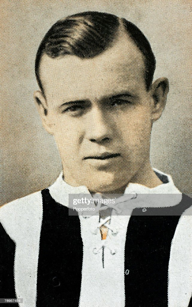 Sport. Football Illustration. pic: circa 1926. Hughie Gallacher, Newcastle United centre forward, who won 20 Scotland international caps from 1924-1935. : News Photo