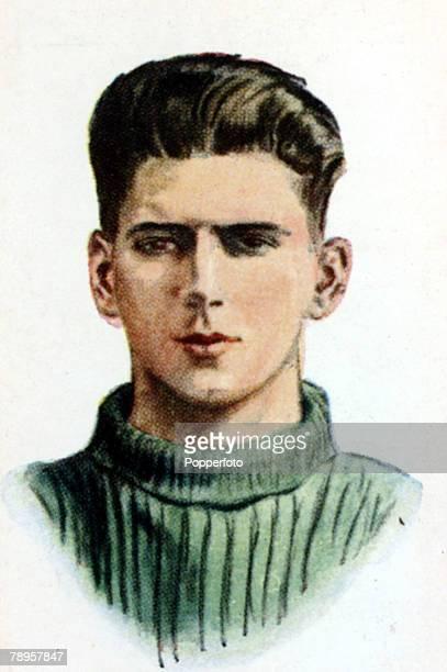 circa 1930's JThomson Celtic who won 4 Scotland international caps from 19301931