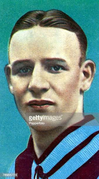 1930's D Astley Aston Villa inside left who won 13 Wales international caps from 19311939