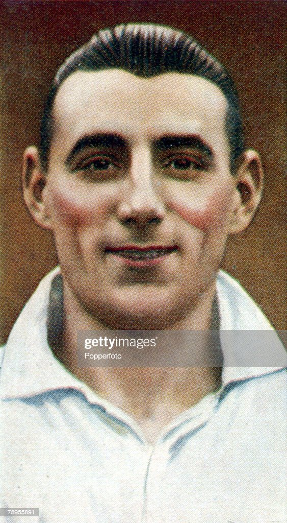 Sport. Football Illustrations. pic: 1930's. S.Lawrence, Swansea Town right back, who won 8 Wales international caps from 1932-1938. : News Photo