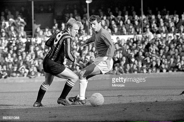 Ipswich v. Manchester City. Action from the match. November 1969 Z10531-011