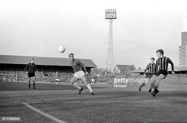 Ipswich v. Manchester City. Action from the match. November 1969 Z10531-001