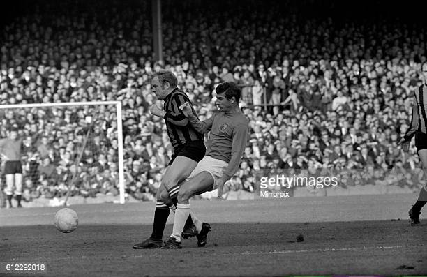 Ipswich v. Manchester City. Action from the match. November 1969 Z10531-003