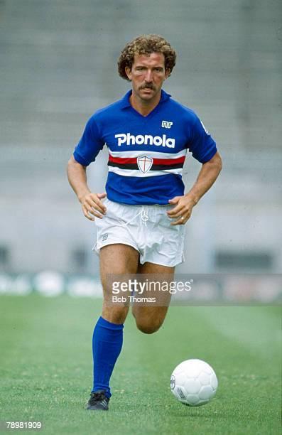 circa 1985 Graeme Souness Sampdoria who also won 54 Scotland international caps between 19751986