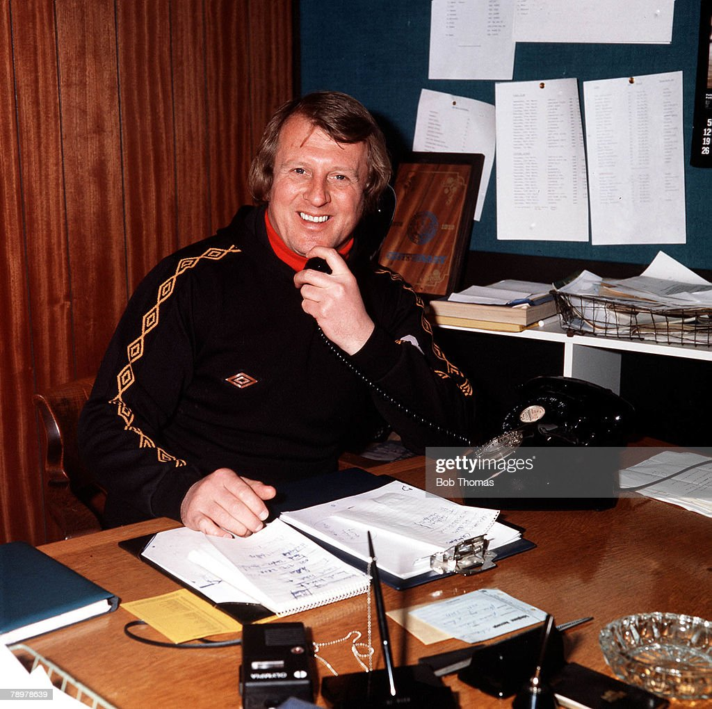 Sport, Football. John Barnwell the Wolverhampton Wanderers Manager. Circa, 1980. : News Photo