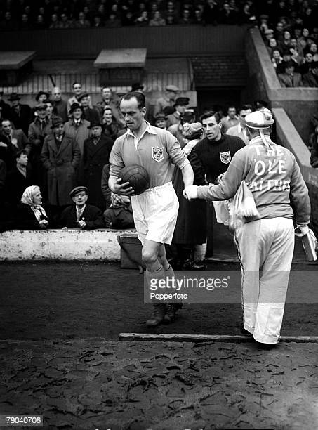 Sport Football League Division One Bloomfield Road England Blackpool v Newcastle United Blackpool captain Harry Johnston leads the team out followed...