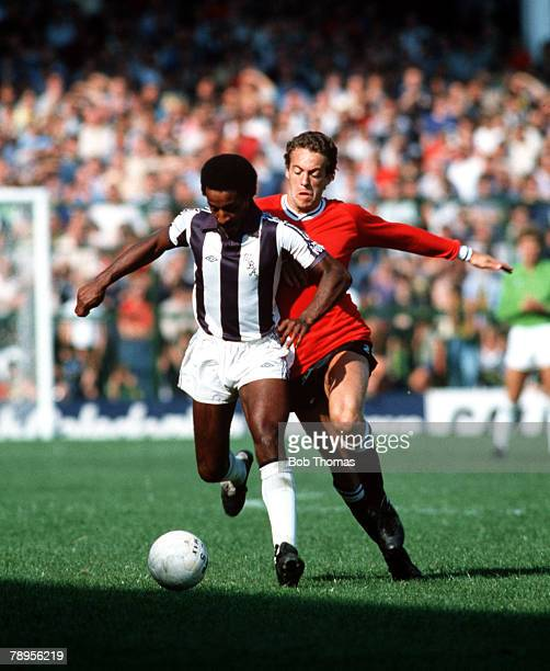 Sport Football League Division One The Hawthorns England 5th September 1981 West Bromwich Albion 4 v Swansea 1 West Bromwich Albion's Brendan Batson...