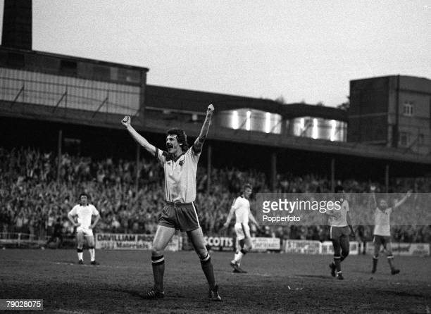 Sport Football League Division Three Vicarage Road England 15th May 1979 Watford 4 v Hull City 0 Watford Promoted to Division Two Watford's Ian...