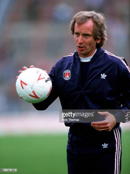 Sport Football Lennie Lawrence the Charlton Athletic Manager Circa 1987