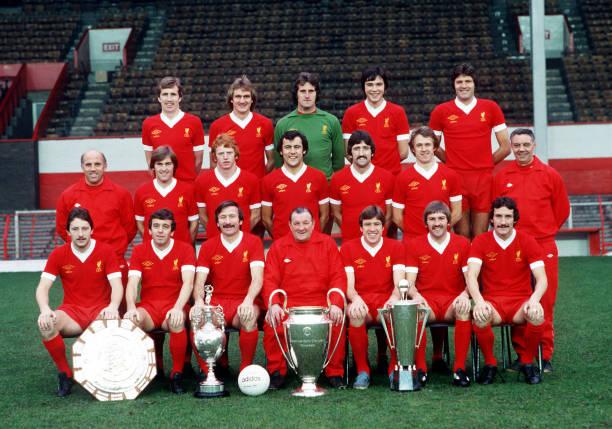 Sport. Football. Liverpool FC Team Group 1977-78 Season