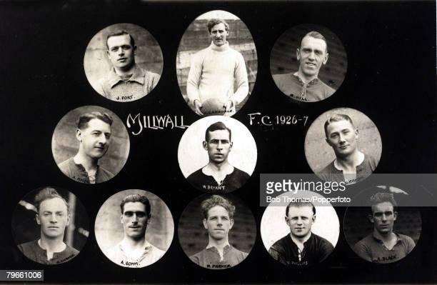 Sport, Football, Millwall F,C, 1926-1927
