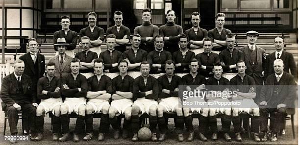 Sport Football Northampton Town FC 19311932 Back row LR JScott EABowen TBoyle LHammond WCave FDavies FDawes Second row LR JEnglish JMcMullen ETodd...