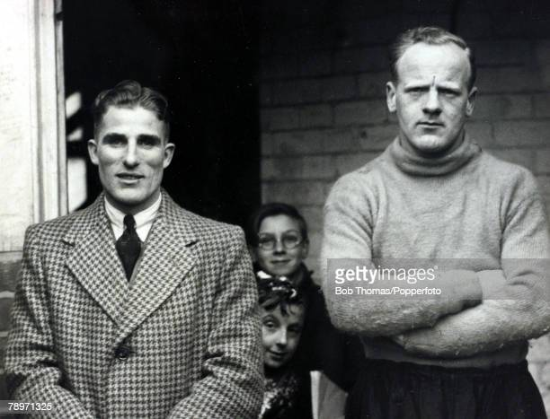 Sport, Football Northampton Town's Samuel Heaselgrave, and Patrick Gillespie at the County Ground, The small boy wearing glasses went on to become an...