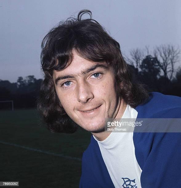 Sport Football October 1973 Portrait of Trevor Francis of Birmingham City