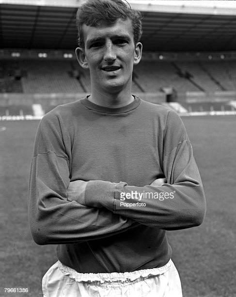 Sport Football Old Trafford England 26th July 1968 Manchester United goalkeeper Alex Stepney