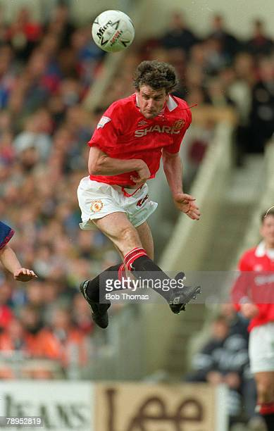 10th April 1994 FA Cup Semi Final at Wembley Manchester United 1 v Oldham Athletic 1 aet Mark Hughes Manchester United