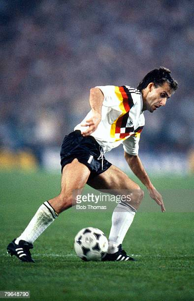 10th June 1988 European Championship in Dusseldorf West Germany 1 v Italy 1 Pierre Littbarski West Germany who played in three World Cup's for his...