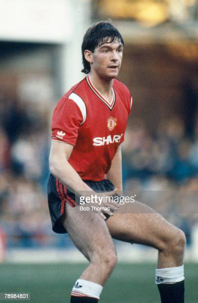 10th November 1984 Division 1 Billy Garton Manchester United central defender 19841989