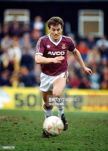 119th April 1986, Division 1, Mark Ward, West Ham United 1985-1989