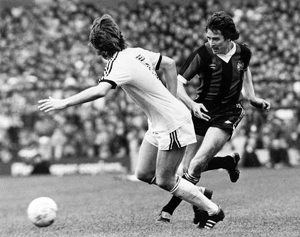 11th April 1981 FA Cup Semi Final At Villa Park Manchester City 1