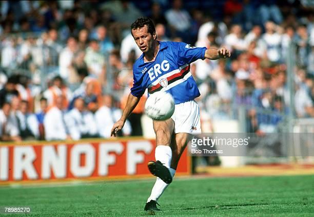 11th August 1990 Giuseppe Dossena Sampdoria