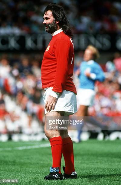 11th August 1991 Sir Matt Busby Testimonial George Best Manchester United
