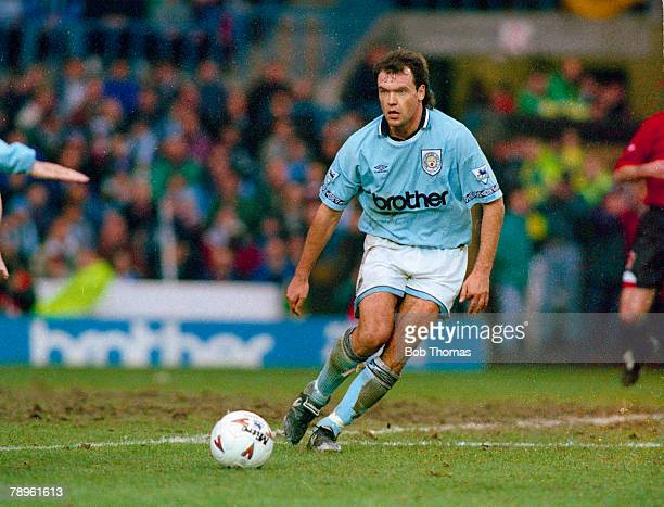 11th February 1995 FA Carling Premiership Uwe Rosler Manchester City striker 19931997