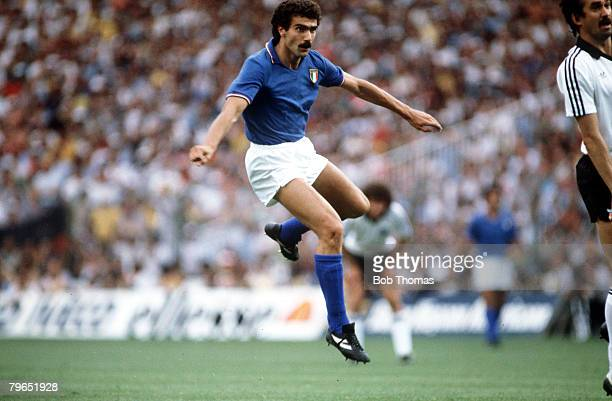 11th July 1982 1982 World Cup Final Italy 3 v West Germany 1 Giuseppe Bergomi Italy