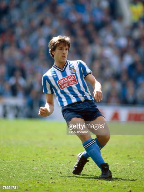 12th April 1987 FA Cup SemiFinal at Hillsborough Coventry City 3 v Leeds United 2 aet David Phillips Coventry City and Wales