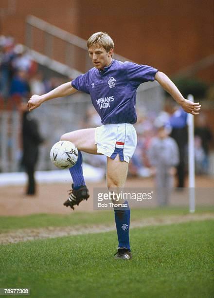 12th March 1989 Scottish Premier Division Gary Stevens Rangers defender who also won 46 England international caps 19851992