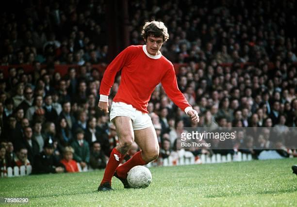 12th September 1970 Division 1 Manchester United v Coventry City Brian Kidd Manchester United