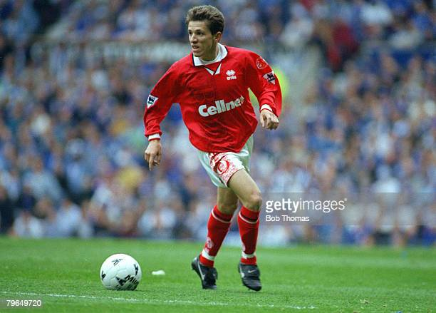 13th April 1997 FA Cup SemiFinal at Old Trafford Chesterfield 3 v Middlesbrough 3 aet Juninho Middlesbrough