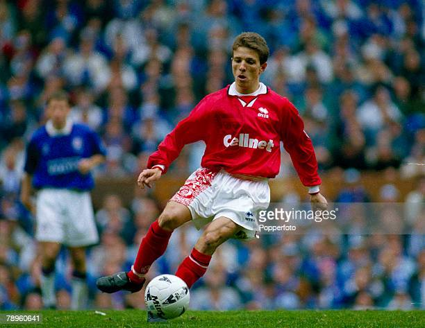 13th April 1997 FACup SemiFinal at Old Trafford Chesterfield 3 v Middlesbrough 3 aet Juninho Middlesbrough