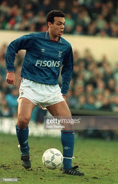13th January 1990 Jason Dozzell Ipswich Town