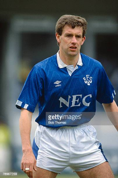 14th April 1990 Division 1 Kevin Sheedy Everton midfielder 19821992 who also won 45 Republic of Ireland caps between 19841993