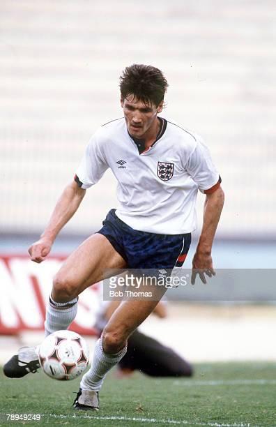 14th October 1987 Valetta Malta 0 v England 2 Mick Harford England B striker