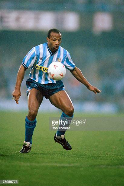 15th December 1990 Division 1 Cyrille Regis Coventry City Cyrille Regis won 5 England international caps between 19821988