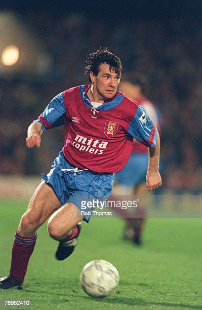 15th December 1992 Coca Cola Cup Ray Houghton Aston Villa
